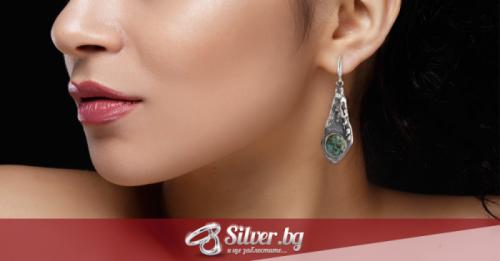Как да изберем сребърни обици според формата на лицето?