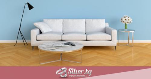 Среброто в интериора – актуално и оригинално
