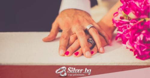 Защо да изберем сребро за брачните халки?
