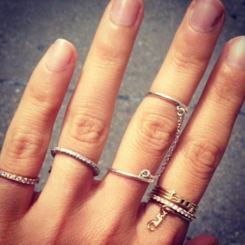 Хиромантия: Значение на пръстите за пръстените