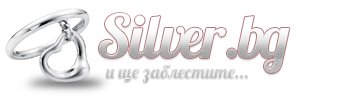 Сребърни обици - E141 | Silver.bg - онлайн магазин за сребърни обици, пръстени, медальони, гривни, висулки, синджири, брошки, колиета с имена и други изделия от сребро на едро и дребно.