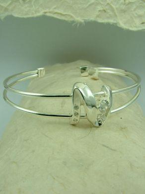 Сребърна гривна B200672