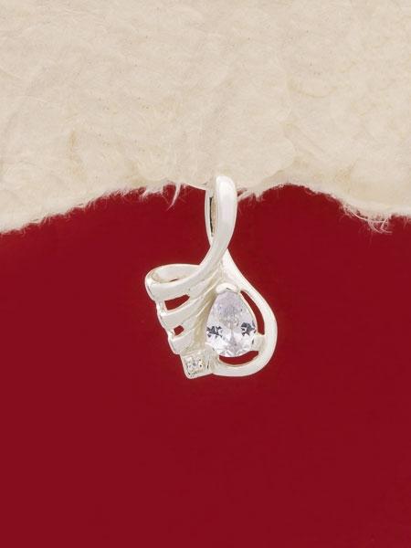 Сребърен медальон P184166