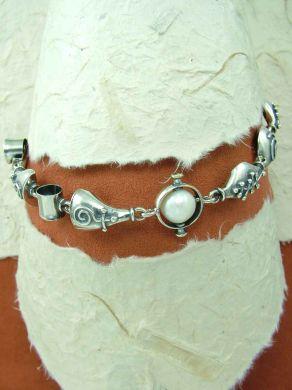 Сребърна гривна HB38