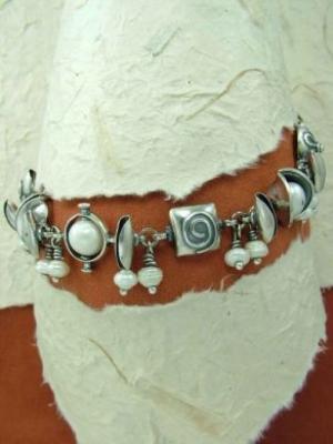 Гривна от сребро HB40