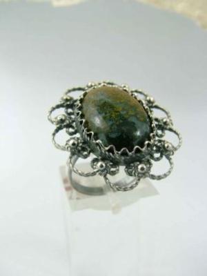 Сребърен пръстен FR201
