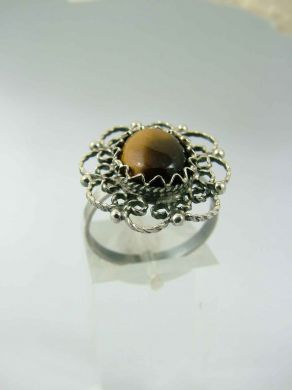 Сребърен пръстен FR203