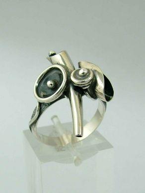 Сребрен пръстен HR22
