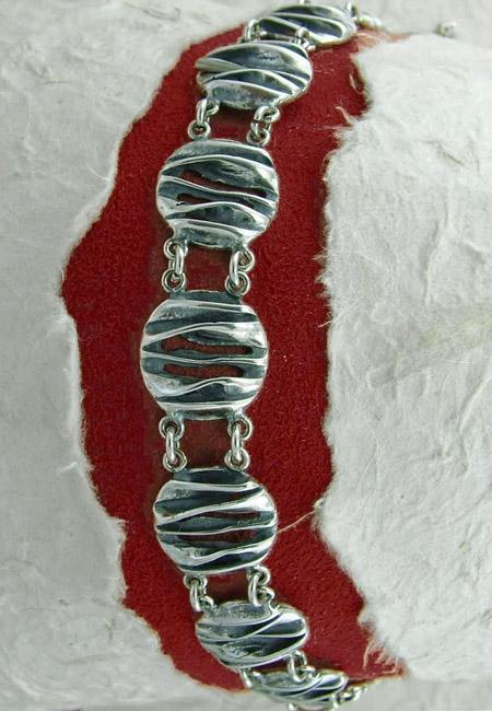 Сребърна гривна - BK202