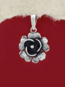 Сребърен медальон PK239