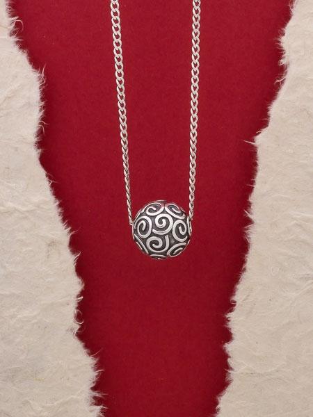 Сребърен медальон HP57