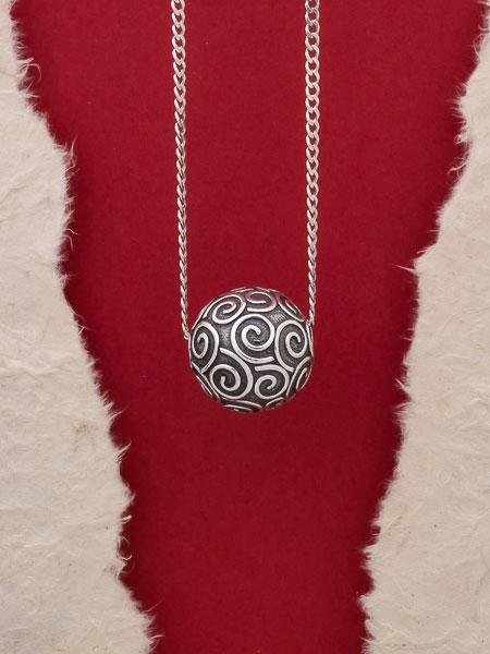 Сребърен медальон HP58