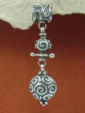 Сребърен медальон HP60