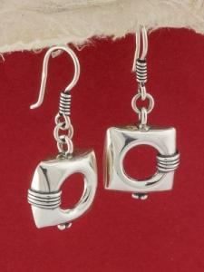 Сребърни обеци HE54
