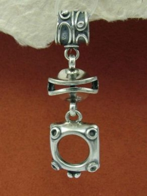 Сребърен медальон HP52