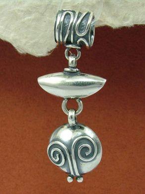 Сребърен медальон HP53