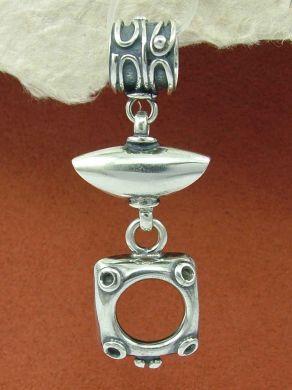 Сребърен медальон HP61