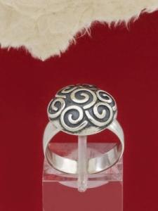 дамски сребърен пръстен RK384
