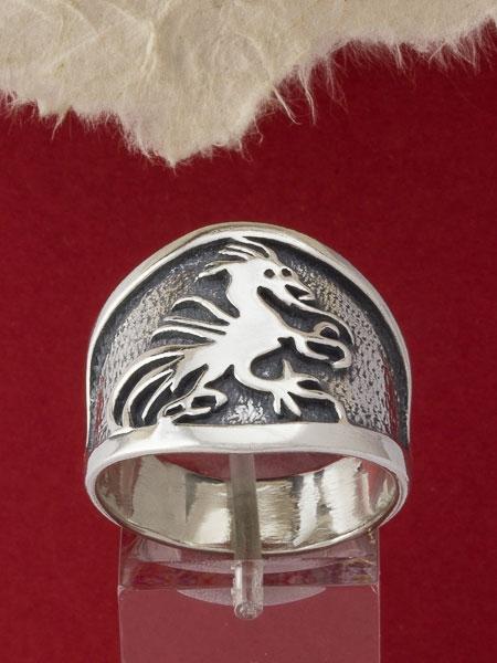 Сребърен пръстен R115