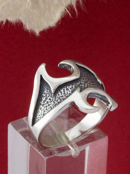 Сребърен пръстен R116