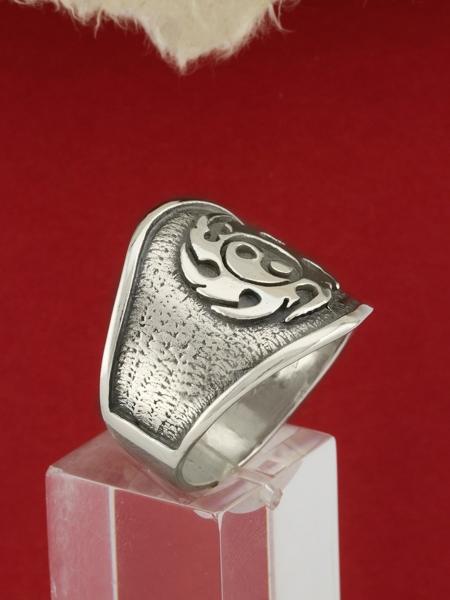 Сребърен пръстен R119