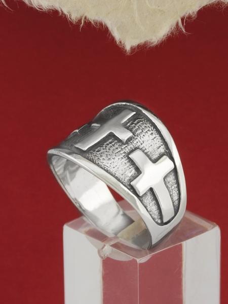 Сребърен пръстен R130