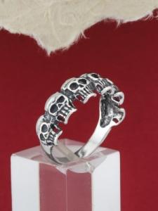 Сребърен пръстен R158