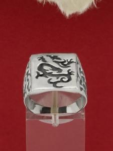 Сребърен пръстен R169