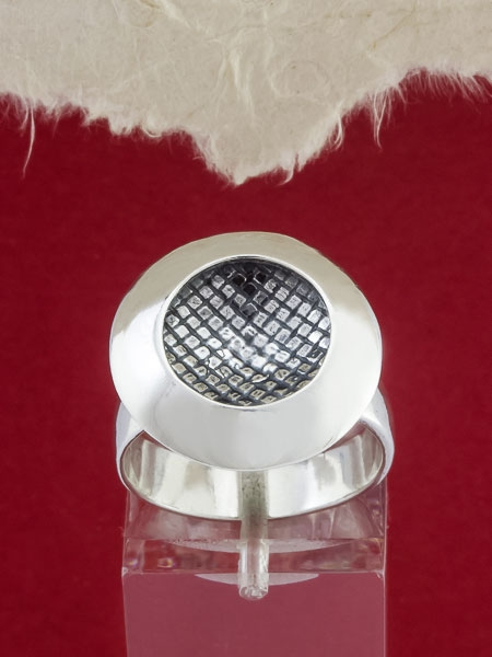 Сребърен пръстен RK6