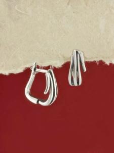 Сребърни обеци - E64