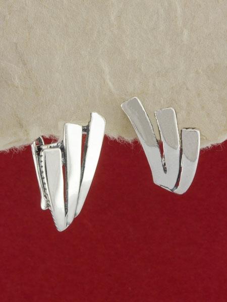 Сребърни обеци E66