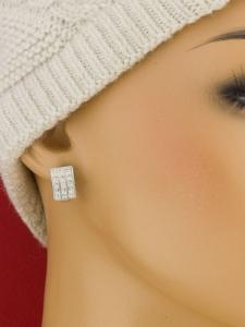 Сребърни обеци - E92