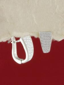 Сребърни обеци E101