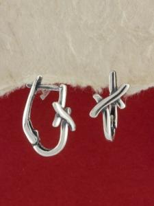 Сребърни обеци E74