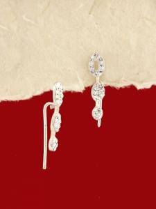 Сребърни обеци - E109