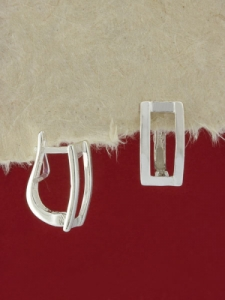 Сребърни обеци - E113