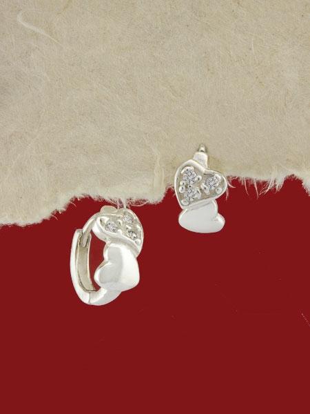 Сребърни обеци - E114