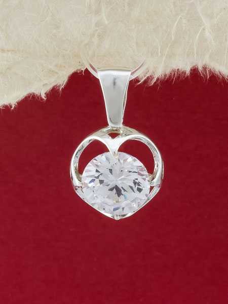 Сребърен медальон - PK304
