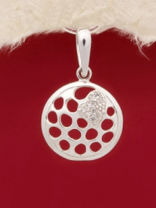 Сребърен медальон - PK307