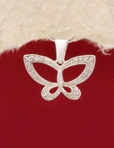 Сребърен медальон - PK312