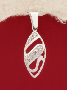 Сребърен медальон - PK314