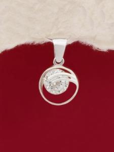 Сребърен медальон - PK329