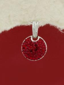Сребърен медальон - PK284
