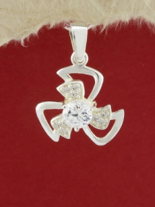 Сребърен медальон - P267