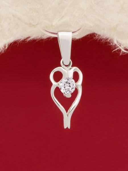 Сребърен медальон - PK278