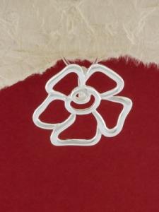Сребърен медальон - P314