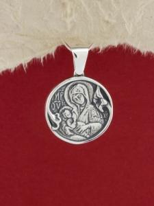Сребърен медальон - P318