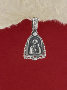 Сребърен медальон - P322
