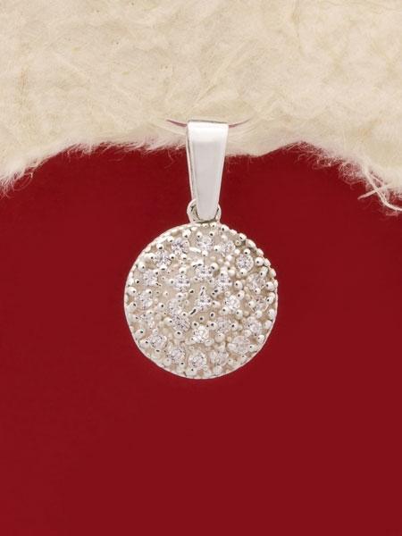 Сребърен медальон - PK276