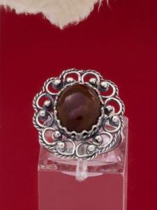 Сребърен пръстен филигран - FRK58